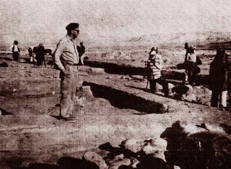 Father Louis Hartman At The Dig