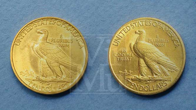 Indian Head Gold Ten Dollar Compare