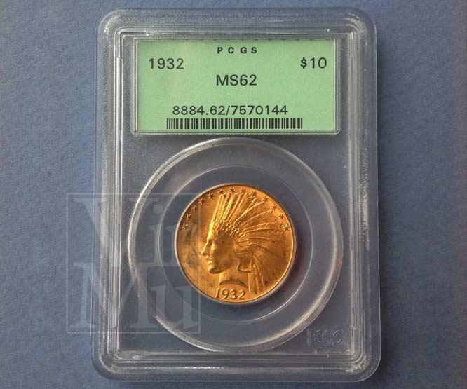 Indian Head Gold Ten Dollar Grading
