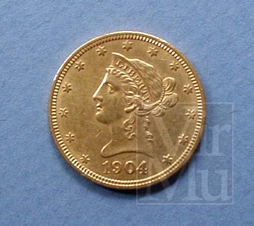 Coronet Head Ten Dollar Gold