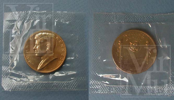 Kennedy Inauguration Medal