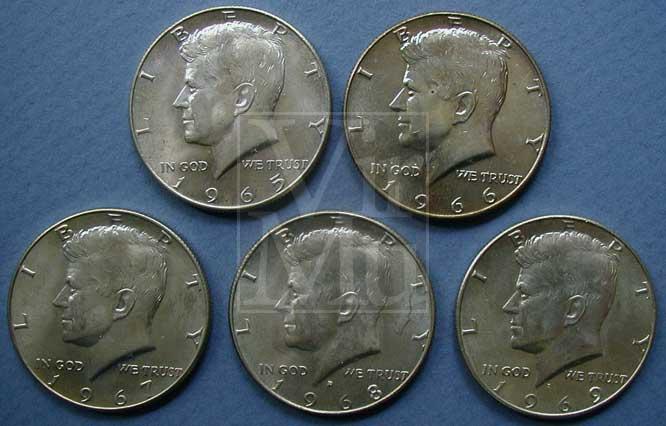 Kennedy Half Silver Content