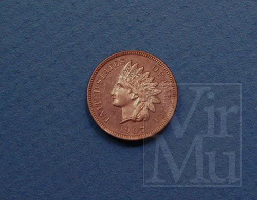 Indian Head Penny Obverse