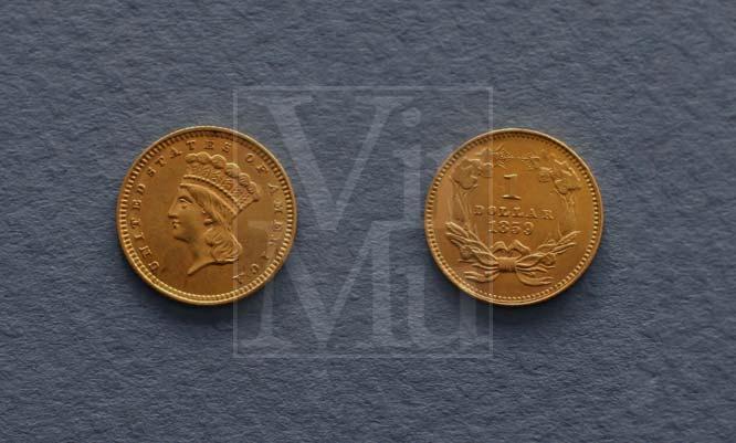 Indian Head Gold Dollar
